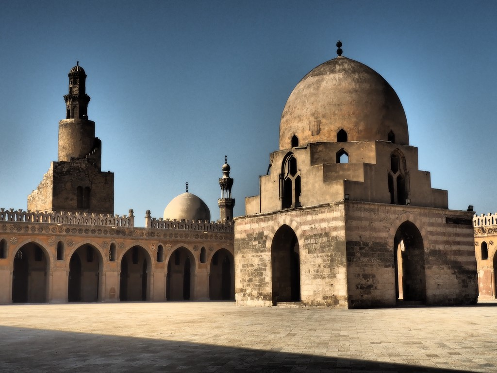 Wunderbare Ibn Toulun Moschee