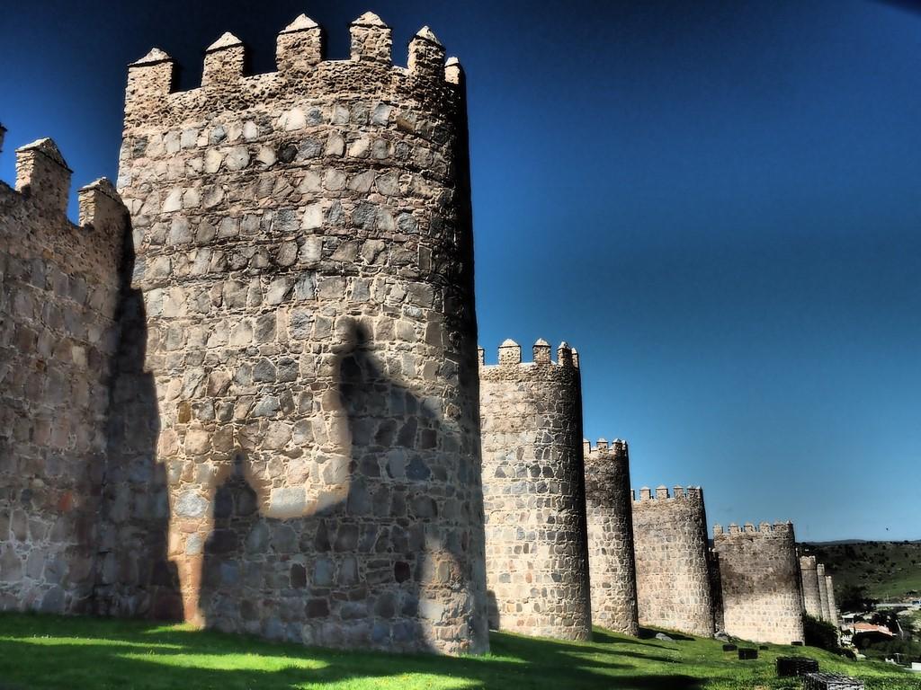 Die Mauern von Avila