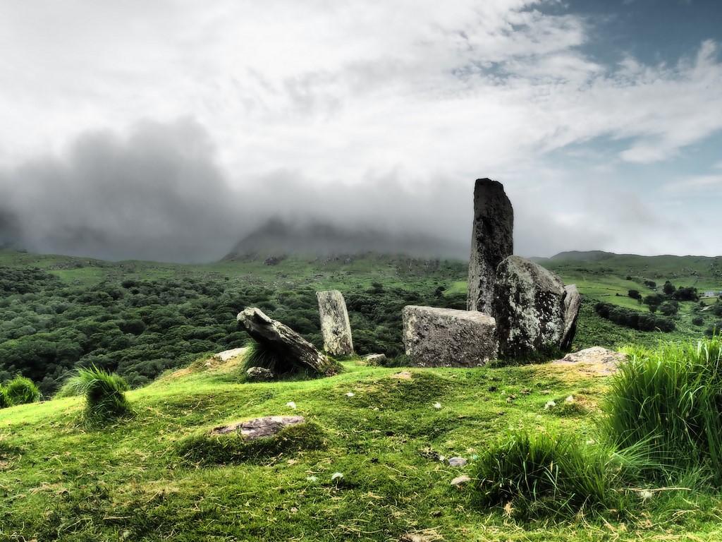 Der Steinkreis von Uragh, Beara Halbinsel