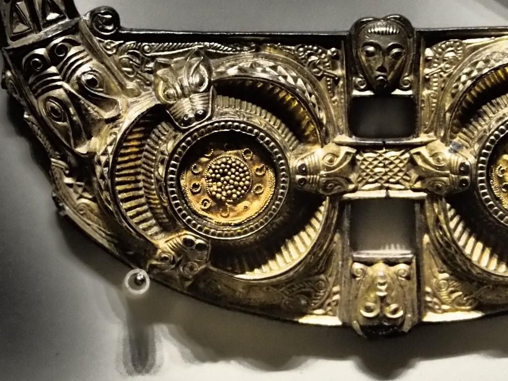 Teil einer Fibel, Irisches Nationalmuseum, Dublin