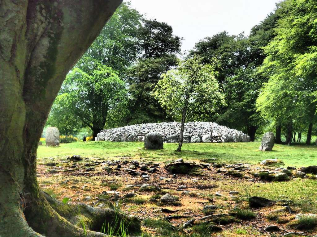Cairns of Clava, Culloden, Scotland