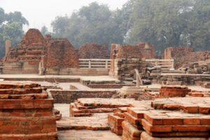 Klosterruinen in Sarnath