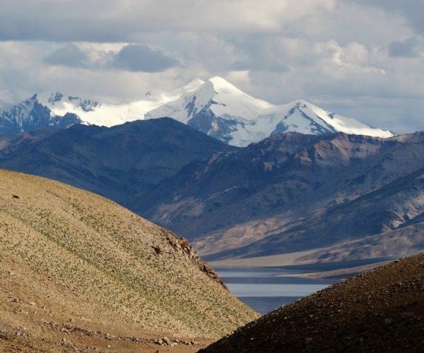 188 Blick auf den austrocknenden See (Ladakh)