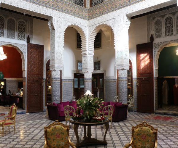 106 Innenhof im Riad Fes (Copy)
