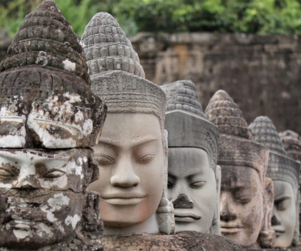 08 Brücke nach Angkor Thom, Götter (Copy)